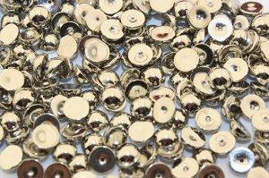 Полубусины под жемчуг (серебро) 6 мм в упаковке 100 шт.