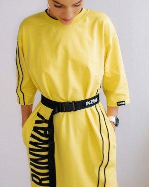 Платье женское RUNWAY, лимон