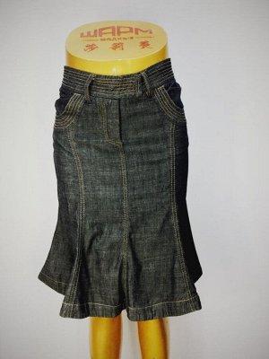 Юбка Состав: Хлопок 100%. Ткань как тонкая джинса.  40 р-р полуобхват пояса 32 см, полуобхват бедер 42 см, длина 55 см 42 р-р полуобхват пояса 34 см, полуобхват бедер 45 см, длина 55 см 44 р-р полуобх