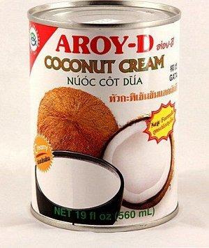 Кокосовые сливки AROY-D  0,56л, ж\б