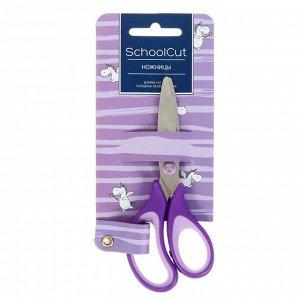 Ножницы детские 14,2 см Schoolcut, эргономичные ручки, микс из 3-х видов