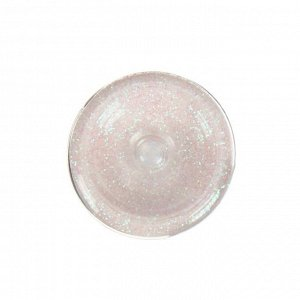 Декоративные блёстки LU*ART Lu*Glitter (сухие), 20 мл, размер 0.2 мм, голографический белый