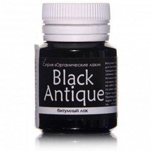 Лак битумный, 20 мл, LU*ART BlackAntique