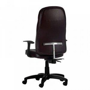 """Кресло руководителя """"Специалист"""", экокожа, коричневое МК-010"""