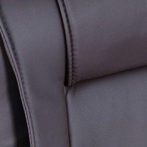 """Кресло руководителя """"Лидер"""", экокожа, коричневый МК-059"""