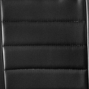 """Кресло руководителя """"Атлант"""", экокожа, черное МК-02"""