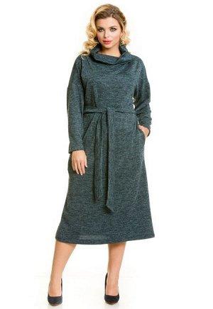 Платье 660 изумрудный