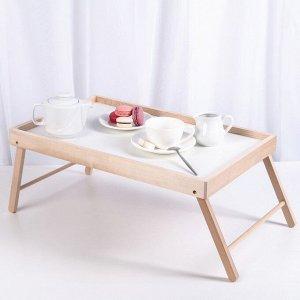 Столик-поднос для завтрака в постель, 52?33?22 см