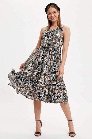 """Платье """"пыльная мята"""""""
