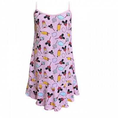 ИВАНОВО Марьяша 27 Мир принтов для детей и взрослых + МАСКИ — Ночные сорочки для девочек — Для девочек