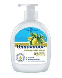 Крем-мыло жидкое НК Оливковое 300мл