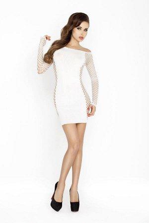 Платье-сетка Passion Erotic Line, белое, OS