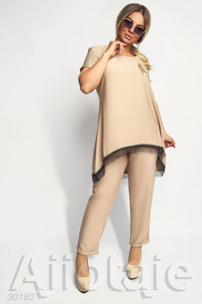 AJIOTAJE-женская одежда 30. До 62 размера — Стильные костюмы 48+ — Костюмы