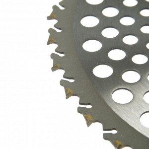 Нож для триммера Rezer GS-W Ultra-Pro, 36 зубьев, 230x25.4x1.3 мм, противоударная форма