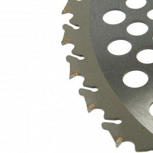 Нож для триммера Rezer GS-W Ultra-Pro, 36 зубьев, 255x25.4x1.3 мм, противоударная форма