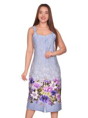 Сарафан - голубой, микс цвет