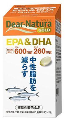 ASAHI Dear-Natura Gold EPA&DHA Омега 3 кислоты премиум