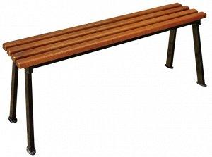 """Лавка Лавка """"Романтика"""" 1,2 Каркас изготовлен из качественного стального профиля, покрытого порошковой краской. Все поверхности изготовлены из древесины хвойных пород. Для защиты деревянных элементов"""