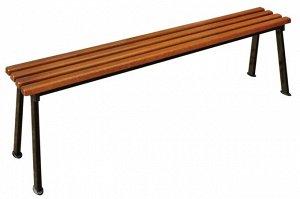"""Лавка Лавка """"Романтика"""" 1,6 Каркас изготовлен из качественного стального профиля, покрытого порошковой краской. Все поверхности изготовлены из древесины хвойных пород. Для защиты деревянных элементов"""