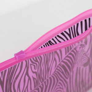 Косметичка для купальника Zebra style