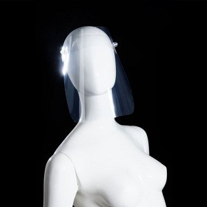 Защитный лицевой экран, ПЭТ