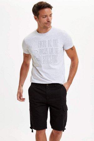 шорты Размеры модели: рост: 1,89 грудь: 100 талия: 81 бедра: 97 Надет размер: 32  Хлопок 100%