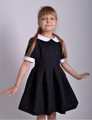 Школьное платье Алиса Черное