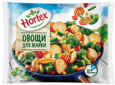 МОЯ МОРОЗИЛКА - продукты питания по удивительным ценам — Смеси для жарки Хортекс — Овощные