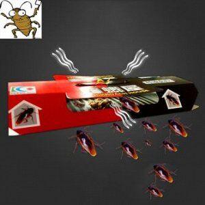 Клеевая ловушка домик от тараканов и муравьев