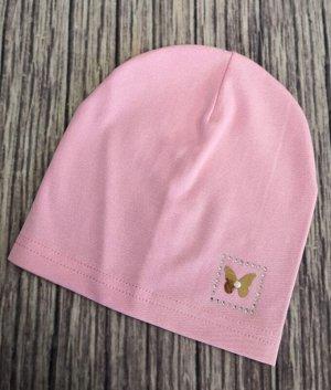 Шапка для девочки. Цвет розовый.