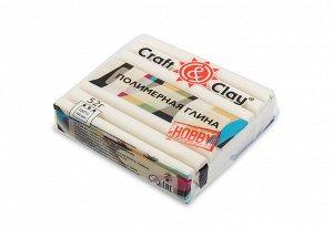 Полимерная глина Craft&Clay 52гр цвет гламур белый