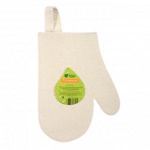 Рукавица для сауны Банные штучки, войлок /20, 41001