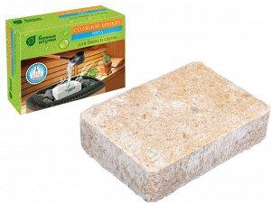 Соляной брикет с травами Мята, 1300 г для бани и сауны Банные штучки/ 9, 32402