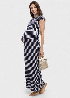 """Платье """"Вояж"""" для беременных и кормящих синее"""