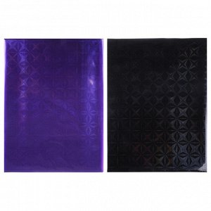 VETTA Шторка для ванной, винил, 180x180см, 12 колец, 3D, 2 цвета