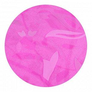 VETTA Шторка для ванной, винил, 180x180см, 12 колец, с рисунком цветов, 2 дизайна
