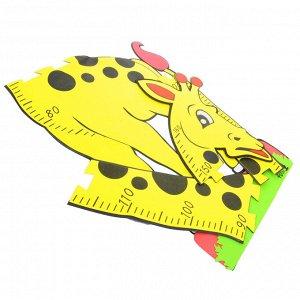 Наклейка-ростомер детская, ПЭВА, 160 см, 6 дизайнов, арт.12-11