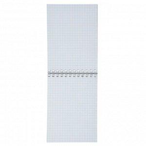 ClipStudio Блокнот А6, 40 листов, офсет, обложка картон, спираль, в клетку, 16 дизайнов