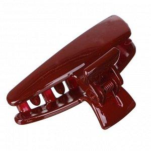BERIOTTI Заколка-краб для волос, металл, пластик, 7,5см, 6 цветов, 4426-5