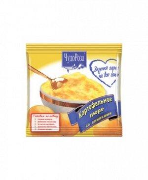 """Картофельное пюре """"Чудо Роза"""" со сливками 120гр."""