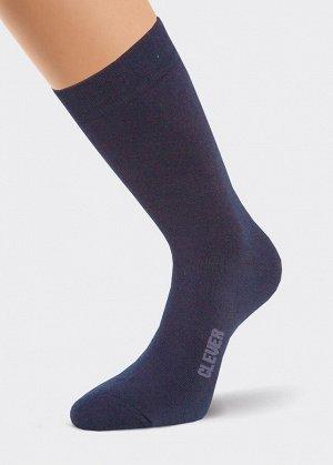 * Цвет: т.синий Описание:  классический мужской носок без рисунка, по следу надпись CLEVER  Состав:  75% хлопок, 20% ПА, 5% эластан