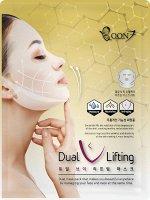 Boon7 Dual V Lifting Mask Антивозрастная маска для подтяжки лица и овала 27гр