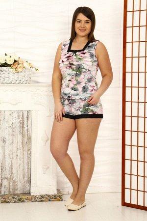 208 Пижама Состав: 92% вискоза 8% лайкра Кружево на пижаме может различаться