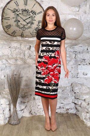 """506 Платье """"Красный"""""""