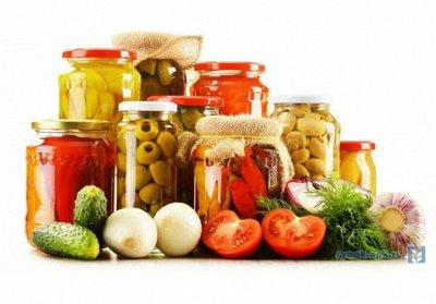 Мясные и молочные продукты, ингредиенты для азиатской кухни. — Консервация. — Овощные и грибные