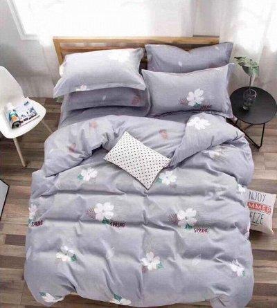 (133) СВК текстиль для спальни-10. Бюджетно — КПБ Alanna на резинке по углам — Двуспальные и евро комплекты