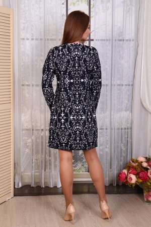 "276 Платье ""Серый"""