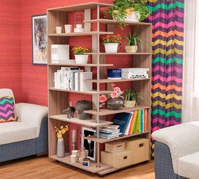 Стеллажи для книг, игрушек, документов — Стеллажи — Шкафы, стеллажи и полки
