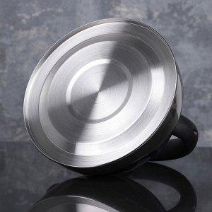 Чайник со свистком «Варин», 3 л, цвет МИКС