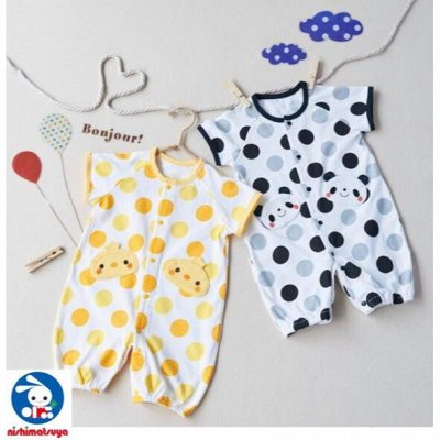 NISHIMATSUYA Детская одежда из Японии! Все в наличии!  — Костюмчики и боди для мальчиков и девочек — Комбинезоны и костюмы